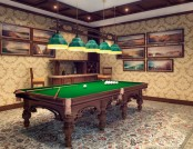 Billiards Room Interior Design Tips and Ideas