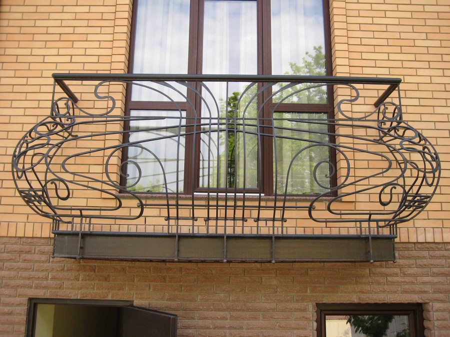 12-beautiful-balconet-balconette-Juliet-balcony-in-architecture-exterior-design-wrough-metal-railing-forgery-barrier
