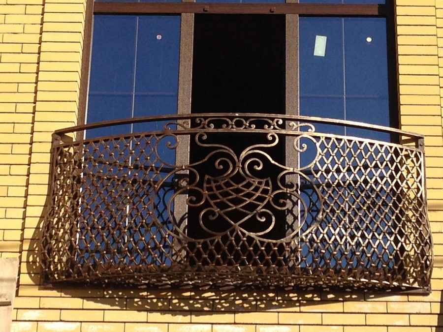 14-beautiful-balconet-balconette-Juliet-balcony-in-architecture-exterior-design-wrough-metal-railing-forgery-barrier