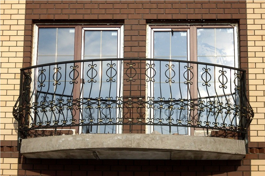15-beautiful-balconet-balconette-Juliet-balcony-in-architecture-exterior-design-wrough-metal-railing-forgery-barrier