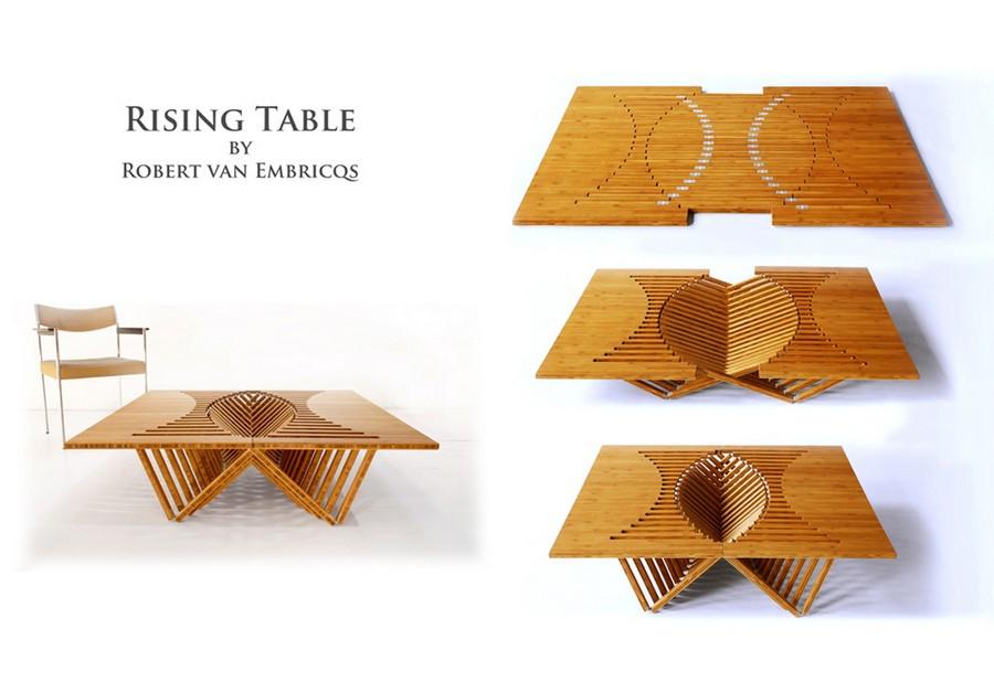 Collapsible Furniture Designer Robert van Embricqs
