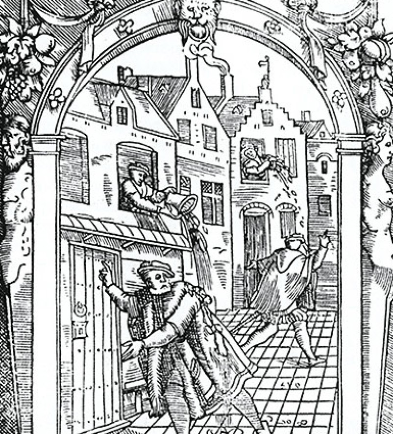 2-medieval-hygiene-sanitary-people-pouring-dirty-water-from-windows-over-heads-of-passers-by