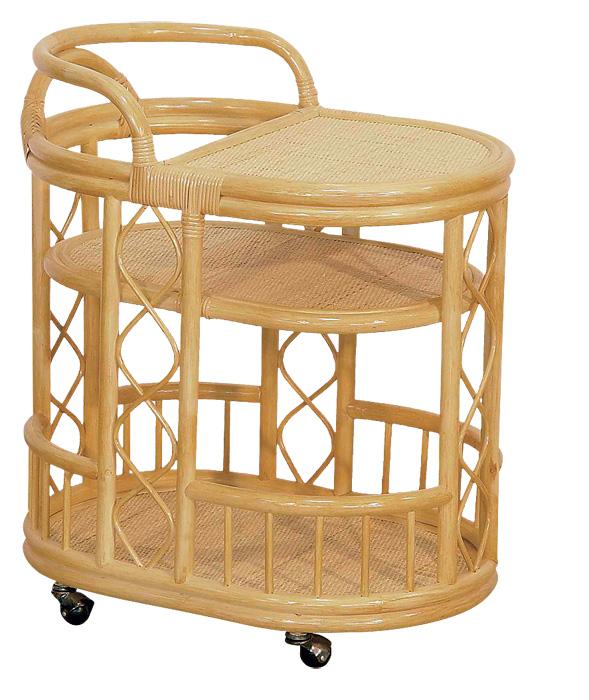 2-serving-trolley-three-tier-beige-rattan-Calamus-Rotan
