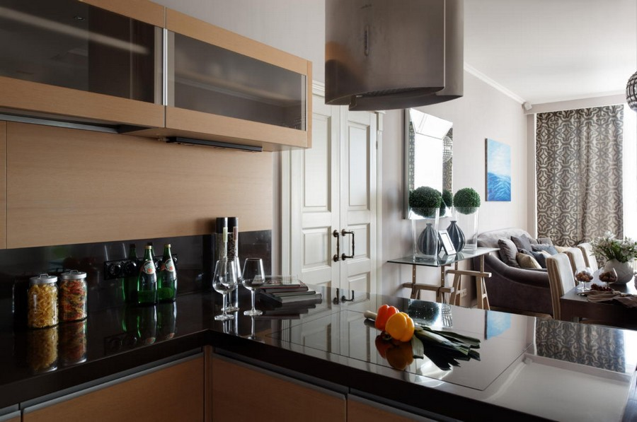 3-1-beautiful-creative-kitchen-backsplash-ideas-dual-wooden-upper-cabinets-black-stone-countertop-open-concept-dining-room-interior-design
