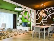 Contemporary Interior Design Inspired by Summer Garden (Part 1)
