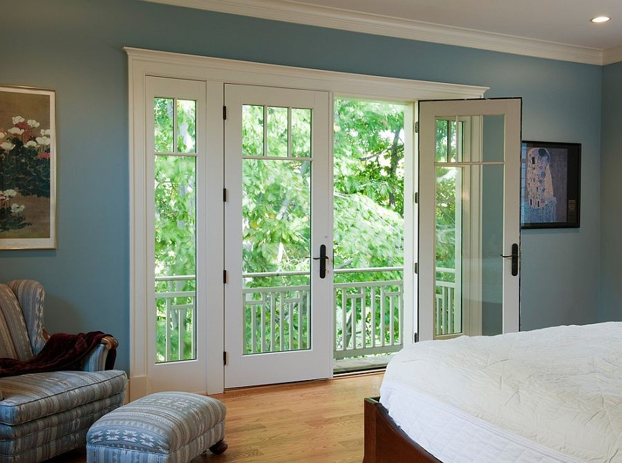 40-beautiful-balconet-balconette-Juliet-balcony-in-interior-design-wrough-metal-railing-forgery-barrier-bedroom-forest-view