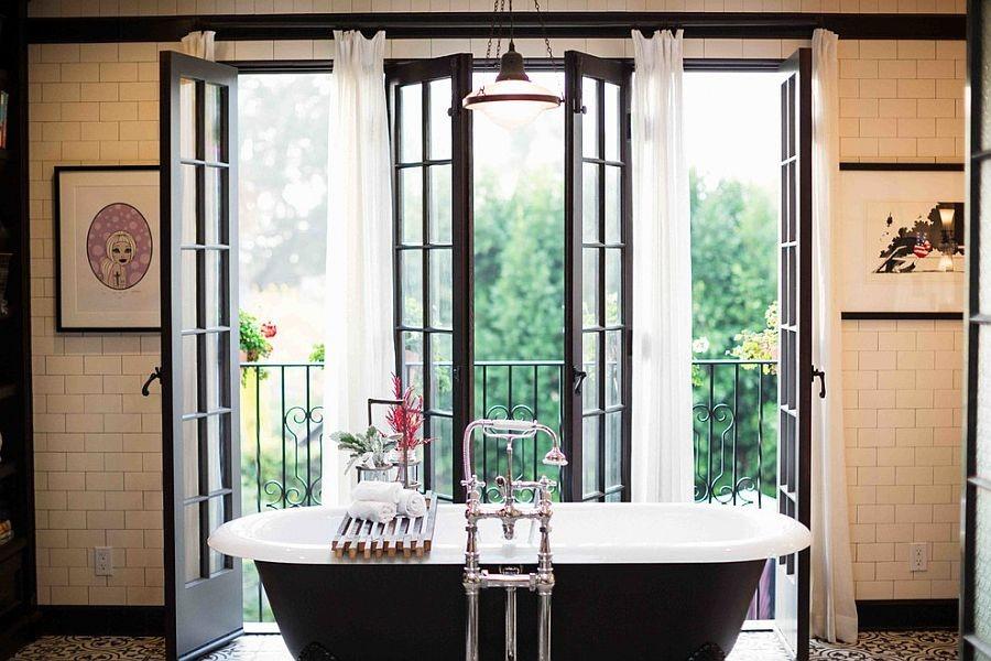 42-beautiful-balconet-balconette-Juliet-balcony-in-interior-design-wrough-metal-railing-forgery-barrier-bathroom