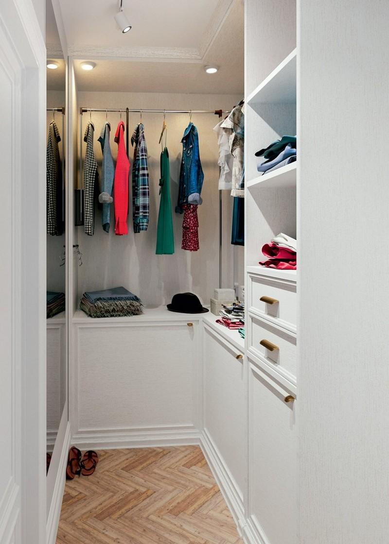 5-Provence-style-interior-design-white-walls-walk-in-closet-block-parquetry