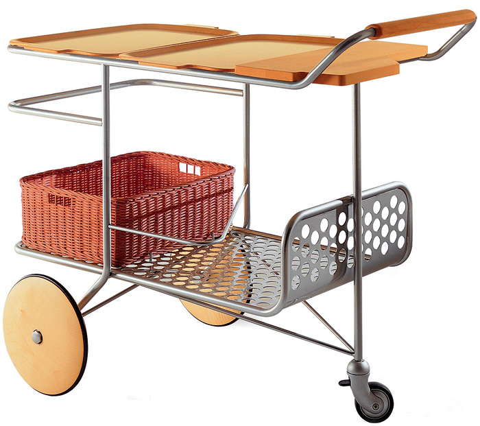 5-serving-trolley-contemporary-style-natural-wood-perforated-metal-basket-Colombo