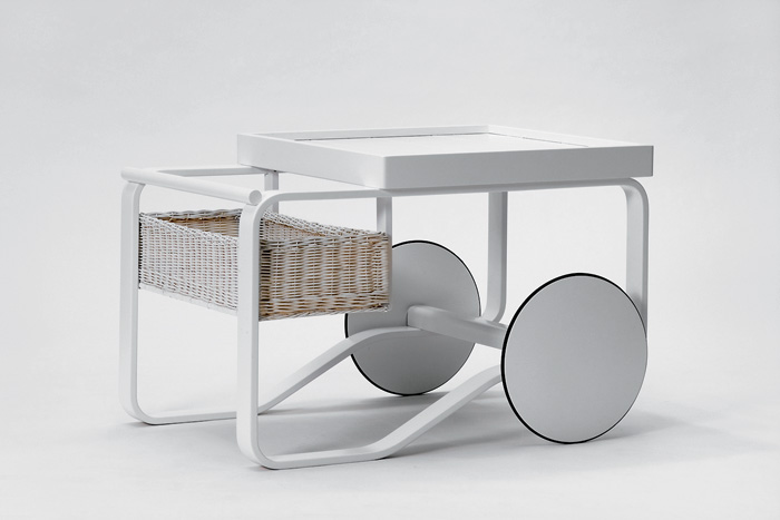 6-serving-trolley-white-birch-wood-Scandinavian-style-wicker-basket-Alvar-Aalto-Artek