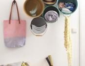 DIY: Handmade Bucket Shelves