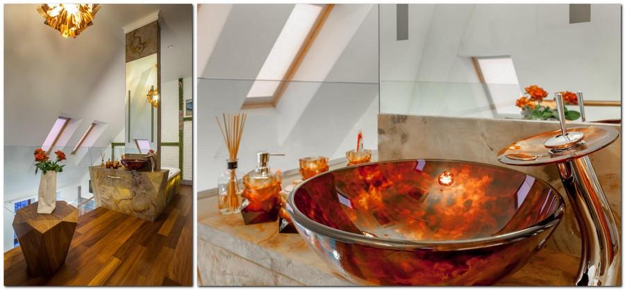7-contemporary-style-bathroom-interior-design-red-brown-creative-unusual-wash-basin