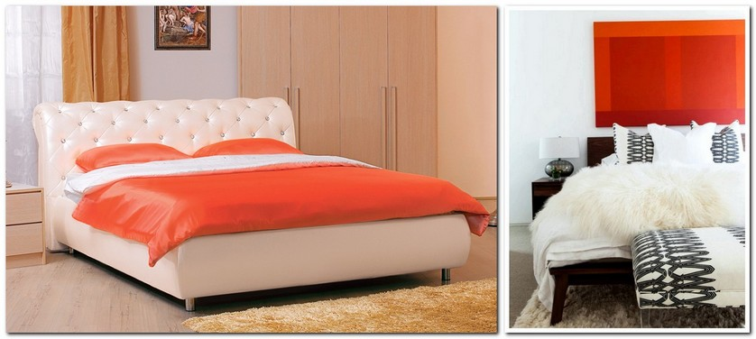 9-flame-red-color-by-Pantone-2017-in-interior-design-bedroom-headboard-bedspread-bed-cover