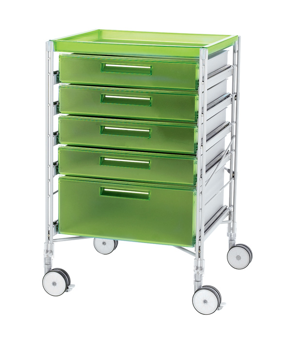 9-serving-trolley-green-plastic-five-tier-Festival-Trolley-Casamania-designed-by-Adriano-Baldanzi-and-Alessandro-Novelli