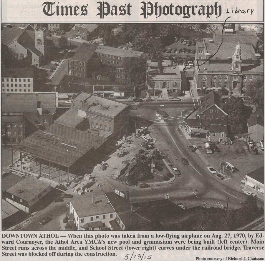 Athol-small-town-in-Massachusetts-USA-historic-photo-of-year-1970-from-an-airplane-panoramic-view-of-downtown-town-hall-church-main-street-public-library-Carnegie