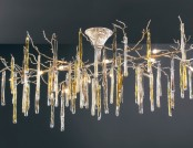 Glamour Collection of Lamps by Serip Inspired by Winter Trees