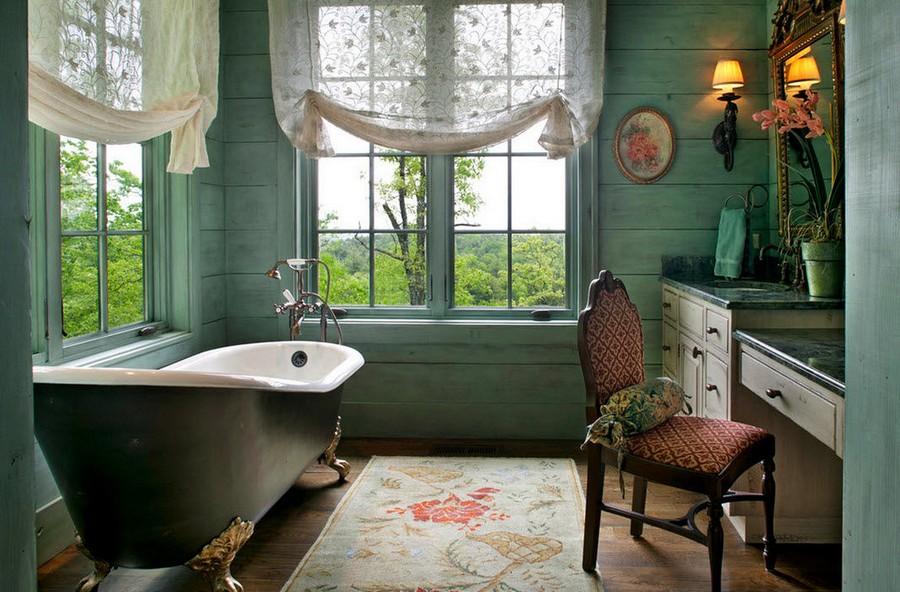 0-warm-cozy-bathroom-interior-design-retro-style-bath-bathtub-clawfoot-rug-sheer-curtains-two-big-windows-dressing-table-stone-countertop-chest-of-drawers-classical-lights-vintage-decor-chair-shower-head