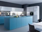20 Trendy Blue Kitchen Sets in Interior Design