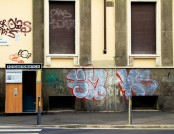 Graffiti Removal with DOFF Cleaning