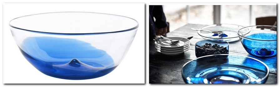 1-hand-blown-glass-blue-serving-bowl-by-IKEA-Sweden-new-collection-Stockholm-2017