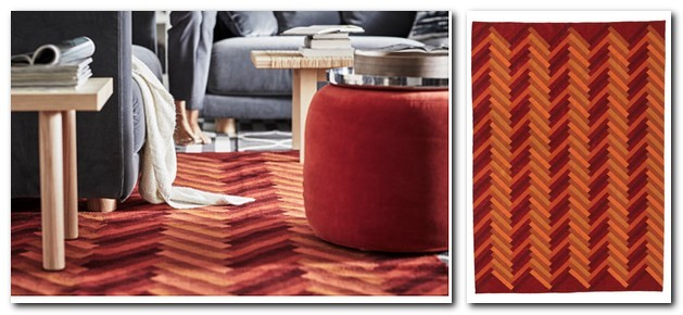 17-pile-less-carpet-rug-handmade-zigzag-pattern-red-and-orange-by-IKEA-Sweden-new-collection-Stockholm-2017