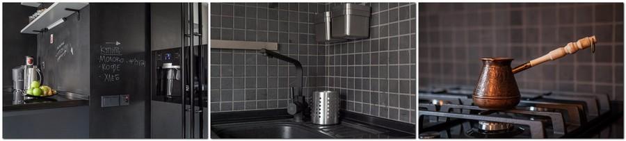 2-2-black-kitchen-set-interior-design-chalkboard-wall-detials-coffee-pot-square-tiles-backsplash-water-tap-mixer