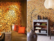 Wood Cross Sections in Interior Design: 20 Ideas + DIY