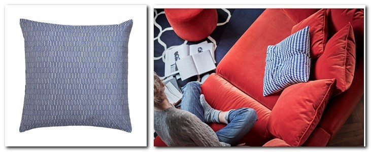 22-cotton-duck-feather-filling-throw-pillow-couch-decorative-white-and-blue-by-IKEA-Sweden-new-collection-Stockholm-2017
