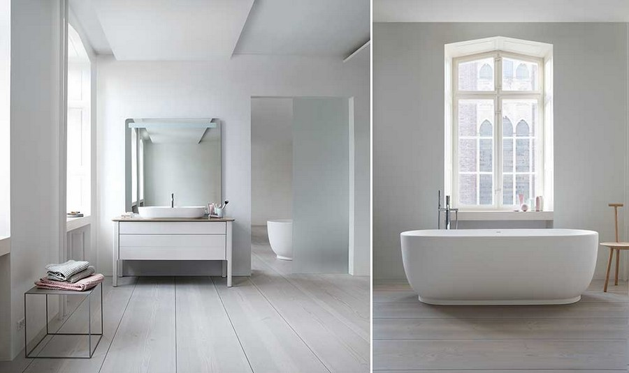 3-Duravit-new-bathroom-collection-2017-Germany-Cecilie-Manz-Luv-minimalistic-Scandinavian-style-slim-edges-rims-thin-top-mounted-wash-basin-bath-bathtub