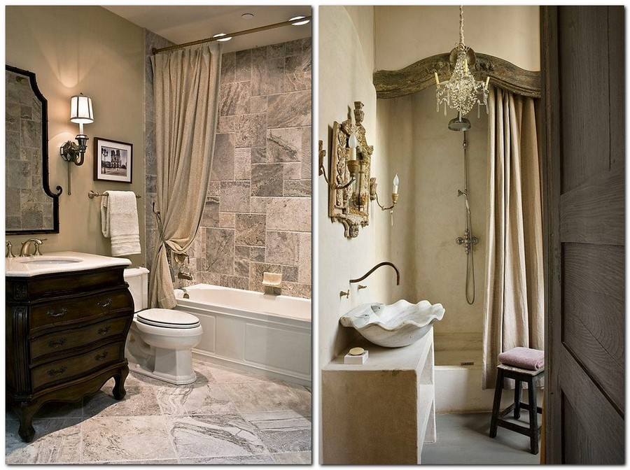 3-warm-cozy-bathroom-interior-design-beige-gray-classical-style-drapery-fabric-curtains-chandelier-candlestick-flower-shaped-washbasin-gorgeous