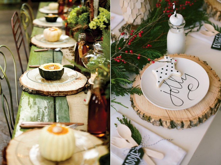 4-2-tree-wood-cross-sections-cuts-in-interior-design-decor-table-setting-Christmas-eco-style-rustic-coasters
