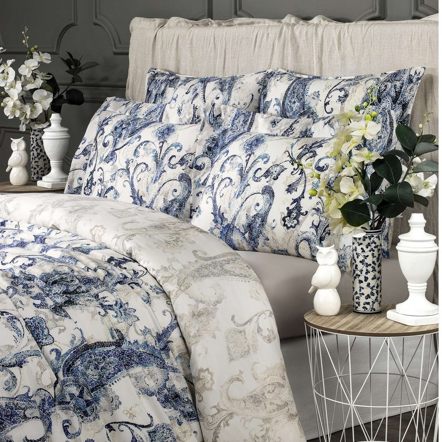 4-Togas-Greek-home-textile-new-collection-2017-Santorini-white-blue-pattern-paisley-bed-linen-set-pillows-blanket