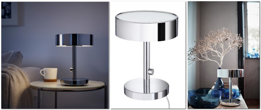 4-chrome-plated-table-lamp-bedside-by-IKEA-Sweden-new-collection-Stockholm-2017