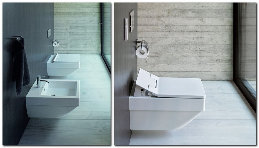 5-Duravit-new-bathroom-collection-2017-Germany-Vero-Air-rectangular-shaped-geometry-wall-mounted-toilet-bidet-push-to-open-button-cover
