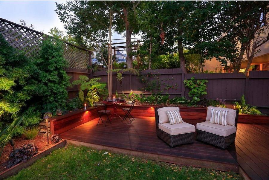 6-10-outdoor-garden-landscape-lighting-ideas-house-illumination-deck-terrace-rattan-arm-chairs-mini-lamp-posts