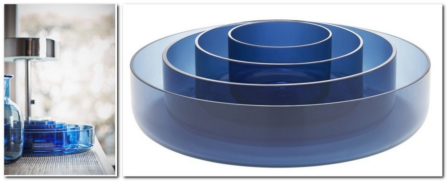 6-hand-blown-glass-blue-serving-bowl-set-4-pieces-by-IKEA-Sweden-new-collection-Stockholm-2017