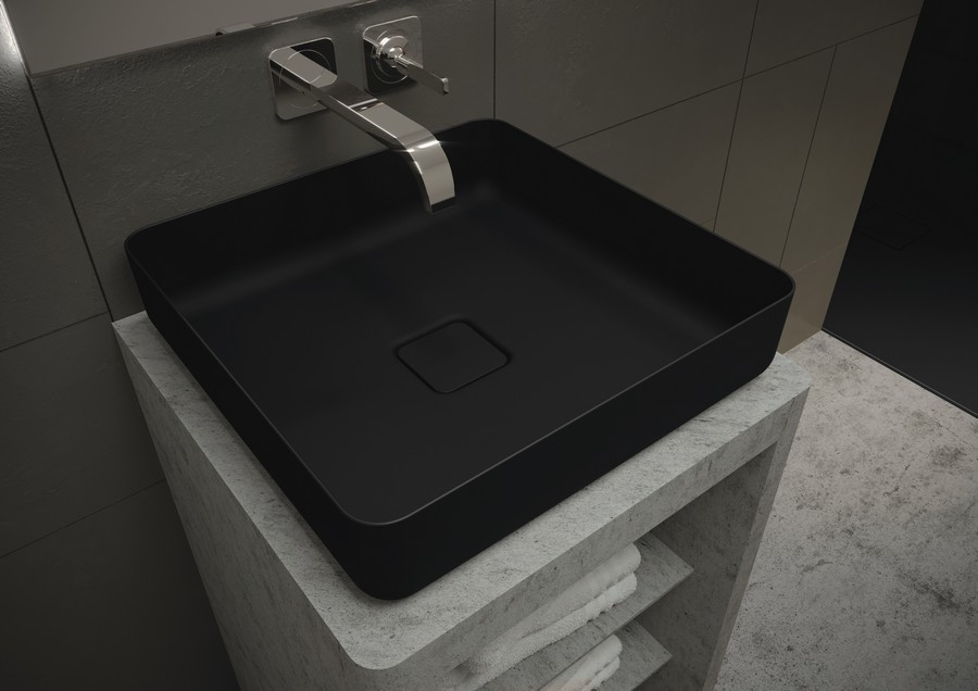 9-Kaldewei-Coordinated-colours-collection-2017-matte-black-washbasin-bathroom-sink-rectangular
