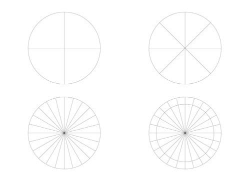 1-stencil-for-diy-handmade-sunburst-mirror-circle-24-sections