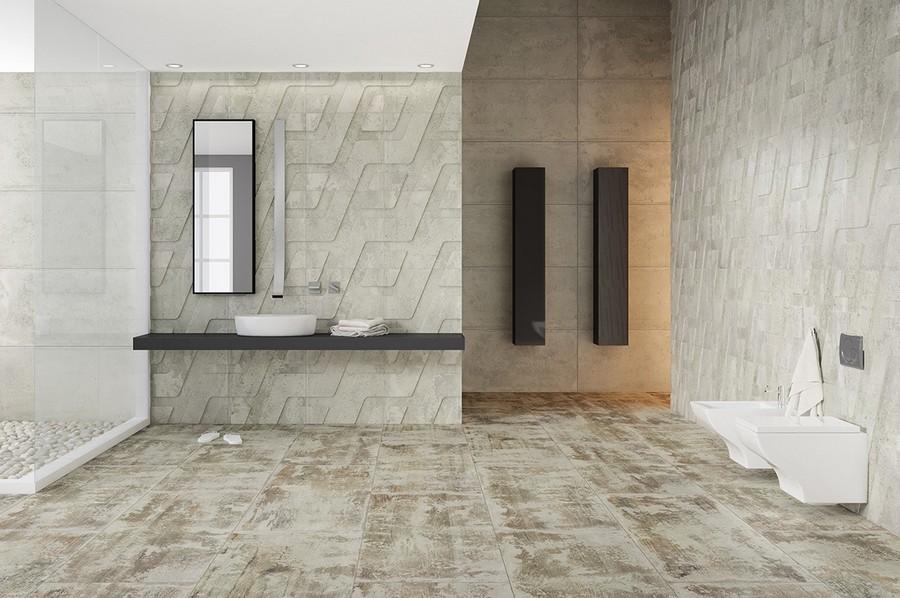 2-10-ceramic-tiles-in-bathroom-interior-design-loft-style-geometrical-motifs-cement-concrete-texture-pattern-Apavisa-brand-collection-2017