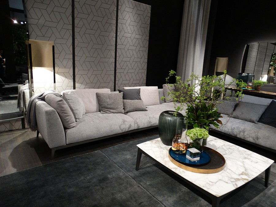 2-3-Flou-new-collection-of-contemporary-style-furniture-at-Salone-de-Mobile-Exhibition-Milan-2017-gray-corner-sofa-coffee-table