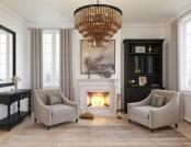 Super-Relaxing & Elegant Bedroom Interior Design in Beige & Gray