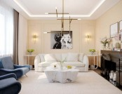 Stylish Image-Maker's Apartment Furnished with Eichholtz Pieces