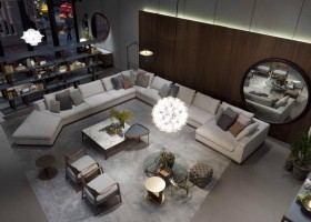 3-2-Porada-new-collection-of-contemporary-style-furniture-at-Salone-de-Mobile-Exhibition-Milan-2017-living-room-interior-design-long-big-corner-sofa-coffee-tables-arm-chairs-total-gray-round-mirror-lamps