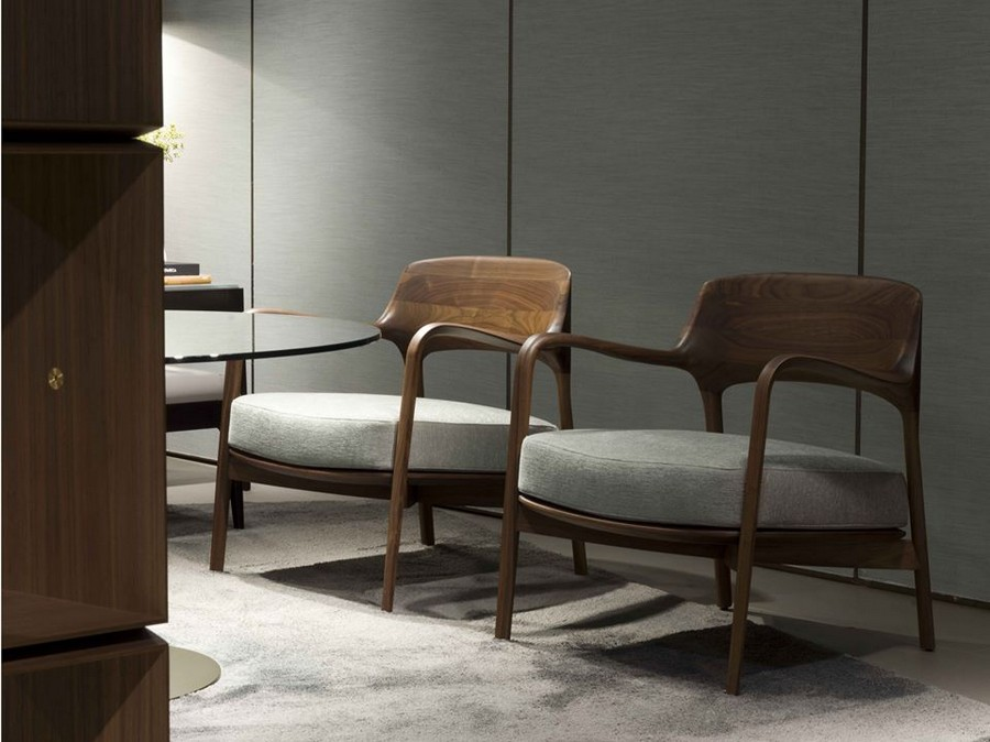 3-6-Porada-new-collection-of-contemporary-style-furniture-at-Salone-de-Mobile-Exhibition-Milan-2017-wooden-gray-arm-chairs