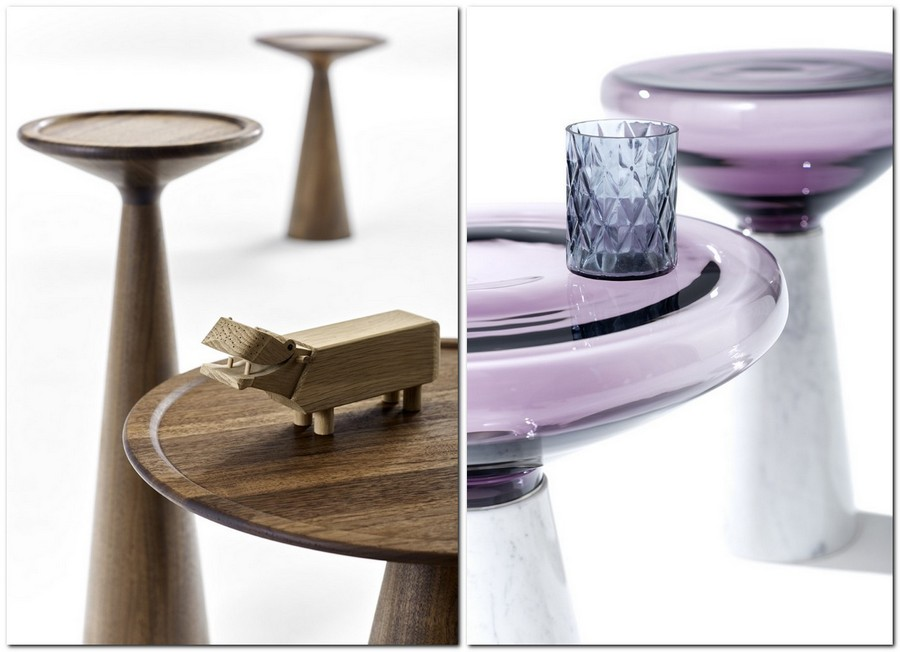 4-6-Draenert-new-collection-of-contemporary-style-furniture-at-Salone-de-Mobile-Exhibition-Milan-2017-wooden-glass-one-leg-table