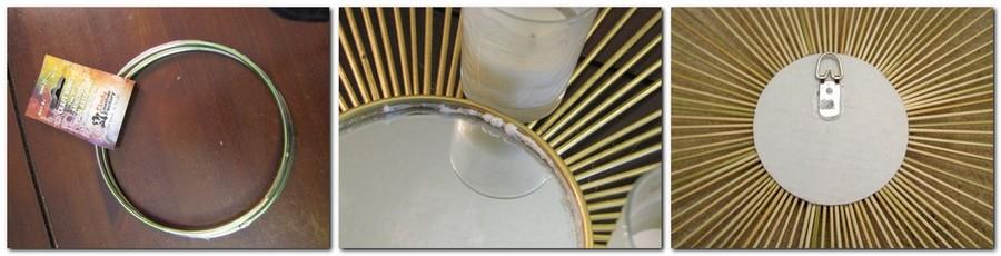 4-DIY-handmade-Sunburst-sun-shaped-mirror-from-bamboo-wooden-skewers-sticks-gluing-crafts-ring-to-round-mirror