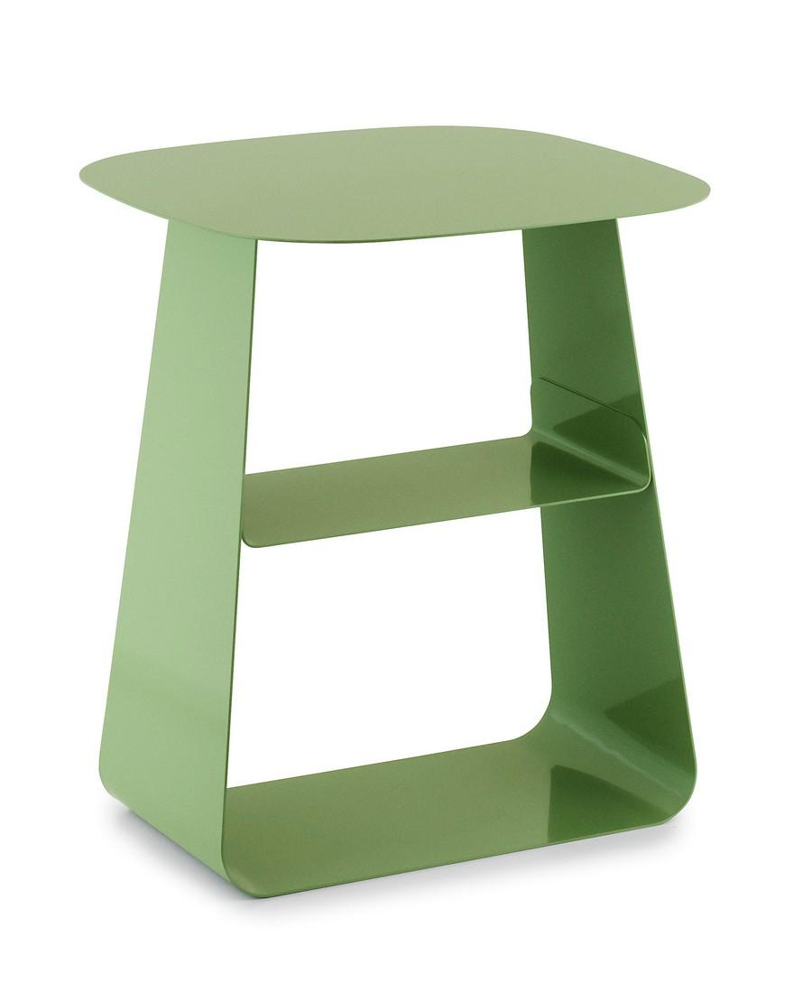 4-green-metal-lacquered-steel-coffee-bedside-table-by-Normann-Copenhagen-design-by-Jonas-Wagell