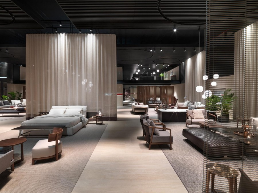 7-2-Flexform-new-collection-of-contemporary-style-furniture-at-Salone-de-Mobile-Exhibition-Milan-2017-gray-beroom-interior-design