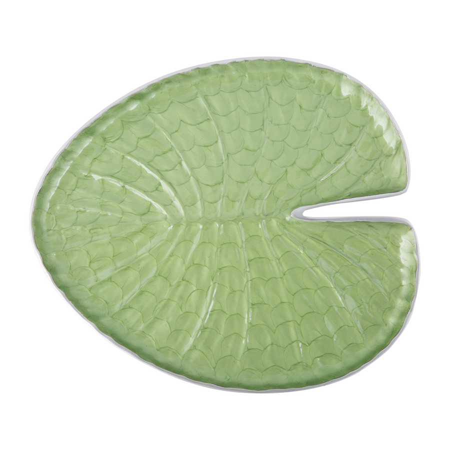 9-metal-aluminum-green-serving-Lily-Pad-platter-designed-by-Julia-Knight