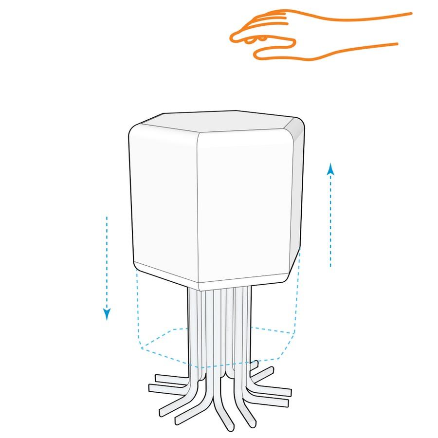 1-2-lift-bit-Italy-Vitra-Carlo-Ratti-design-modular-smart-seat-sofa-remote-digitally-transformable-controlled-furniture-upholstered-hexagonal-geometric